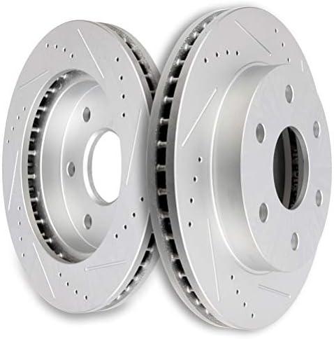 OE Series Rotors + Ceramic Pads Fits: 2003 03 2004 04 2005 05 GMC Safari KT012641 Max Brakes Front Premium Brake Kit