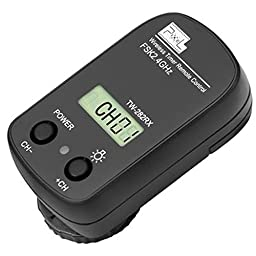 PIXEL TW-282/E3 Wireless Shutter Remote Control Release for Canon EOS 1200D,1100D,1000D,760D,750D,700D,650D,600D,55OD,500D,450D,400D,etc.