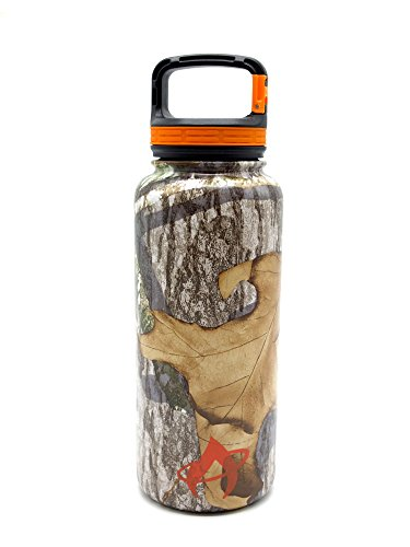 Aura Outdoor Products Mossy Oak Insulated Bottle, 32 oz