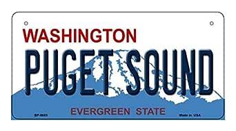 Amazon.com: Puget Sound Washington Novelty Metal Bicycle