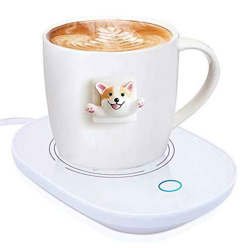 YEAILIFE Coffee Cup Warmer for Desk with Auto Shut Off, Tea Mug Warmer for Office Home Desk Use, Coffee Warmer Plate…