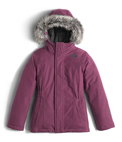 The North Face Greenland Down Parka Girls' Cabaret Pink Heather X-Large by The North Face