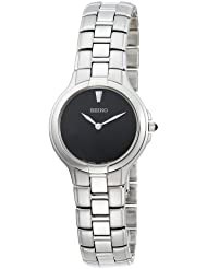 Seiko Womens SFQ833 Affinity Stainless Steel Watch
