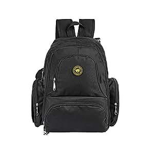Amazon Com Leadking Nappy Changing Bag Muli Pocket Black