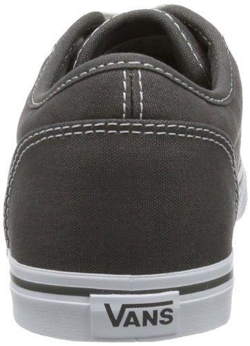 Vans Atwood Low Charcoal Weiß Damen CanvasTrainer Schuhe