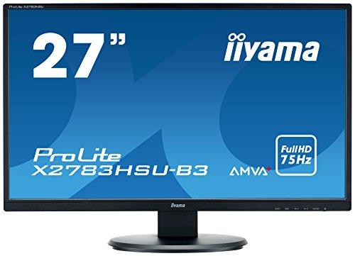 iiyama X2783HSU-B3 27' ProLite AMVA+ HD LED Monitor - Black