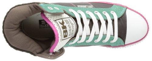 British Knights ATOLL B28-3702 - Zapatillas para mujer marrón - Braun (DK.BROWN/TURQUIOSE/PINK 2)