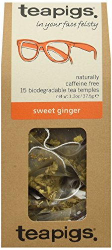 (teapigs Sweet Ginger Tea, 15 Count (Pack of 6) )