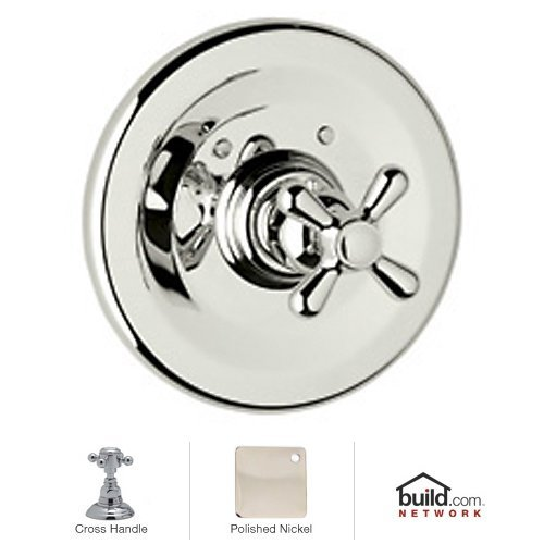 - Rohl A2914XMPN Country Bath Collection Verona Trim Only for Thermostatic Non-Volume Controlled Valve Cross Handle