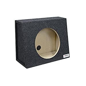"Bbox E12ST Single 12"" Sealed Carpeted Truck Subwoofer Enclosure"