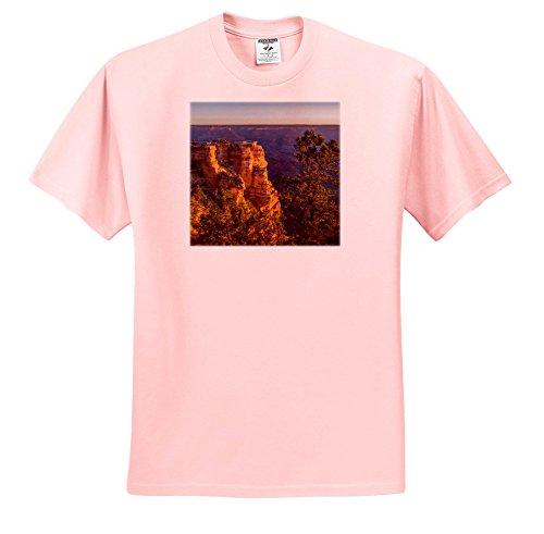 Danita Delimont - Arizona - USA, Arizona, Grand Canyon National Park South Rim - T-Shirts - Youth Light-Pink-T-Shirt Large(14-16) (South Park Juniors T-shirts)