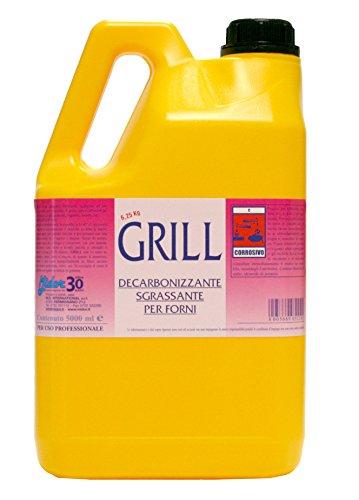 Grill limpiador desengrasante Forte para hornos, niveles de ...