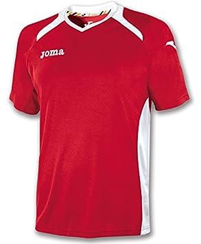 Joma - Camiseta Champion II Naranja-Blanco para Hombre: Amazon.es: Deportes y aire libre