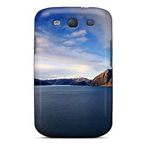 New Shockproof Protection Case Cover For Galaxy S3/ Quiet Lakeside Blue Sky Case Cover
