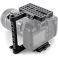SmallRig Camera Cage for Canon 650D 600D 550D 500D 450D 760D 750D 700D 100D 1200D, Nikon D3200 D3300 D5200 D5500, Sony A58 A7 A7S A7R A7RII A7II A7SII, Panasonnic GH4 GH3 GH2 G7, Fujifilm X-T2 - 1658