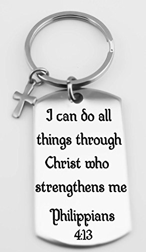 I Can Do All Things Through Christ Who Strengthens Me Religious Christian Faith,Philippians 4:13