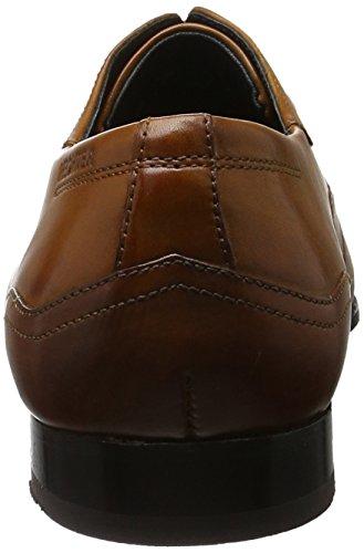 Daniel Hechter 811243031100, Zapatos de Cordones Derby para Hombre Marrón (Cognac)