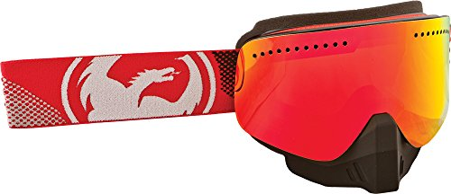 Dragon Alliance Unisex Fade Red NFX Snowmobile Goggles Eyewear, Red Ionized, One Size by Dragon Alliance