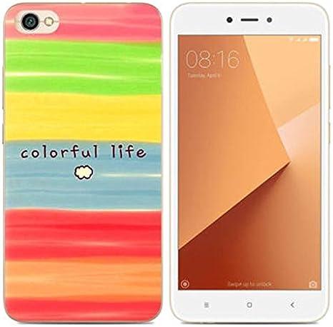 PREVOA Funda para Xiaomi Redmi Note 5A / Redmi Y1 Lite: Amazon.es: Electrónica
