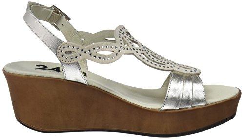 Sandals Beig 23656 WoMen Platform 24 HORAS 1 Beige 4qIaga
