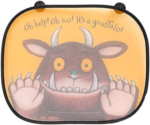 Pack de 2 - Las sombrillas plegables de la ventana de Gruffalo - Accesorios para el coche infantil: Amazon.es: Coche y moto