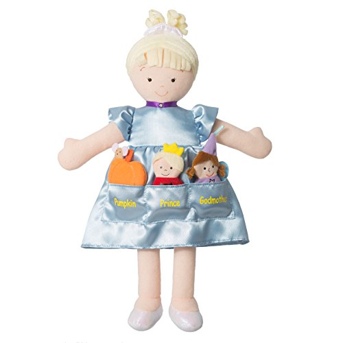 North American Bear Dolly Pockets Cinderella Doll from North American Bear