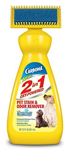 Carbona 2 in 1 Oxy-Powered Pet Stain & Odor Remover 22 oz. (Pack of 6)