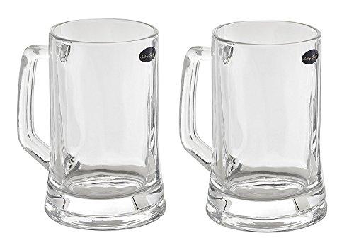 Amlong Crystal Lead Free Beer Mug 14 Oz Set of 2 Deal (Large Image)