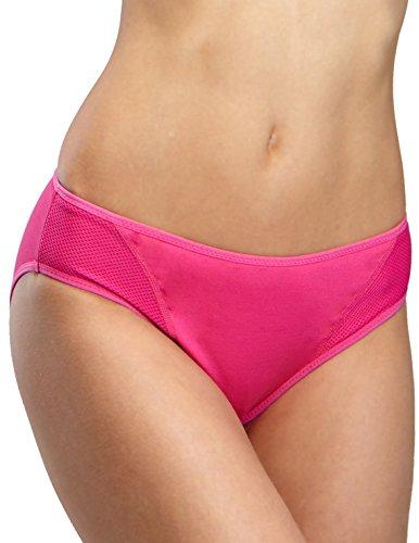 Yvette Women Low-Rise Sports Panties #6044 - Bikini/Max Control/Sweat Free