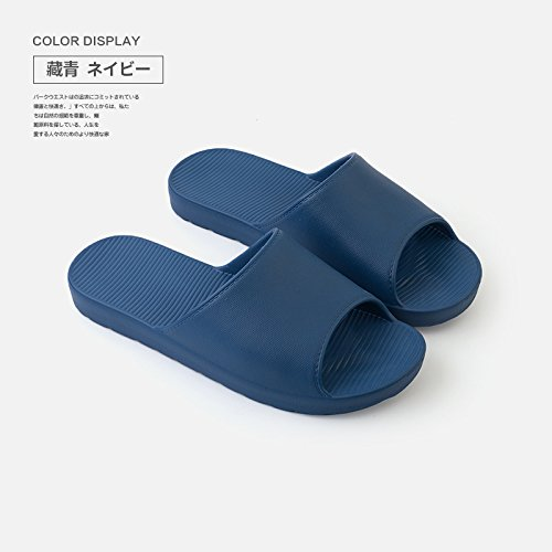 dark fankou slippers bath indoor Stay a bath girls male 42 couples couple slip 41 Deodorization shower home blue summer slippers anti and RxgRqrwZ