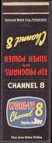 Wgal Tv Channel 8 Lancaster Pa Matchcover