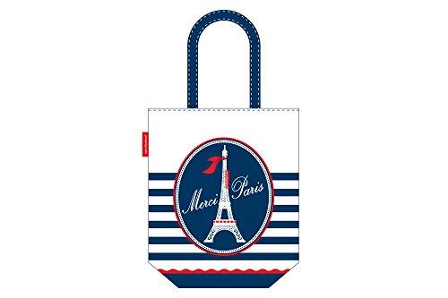 Merci Gustave totm0238Tasche vielen Dank Paris Baumwolle vielen Dank Paris 0,5x 35x 42cm