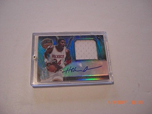 Expert choice for hakeem olajuwon jersey card