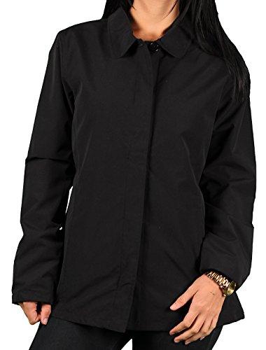 Ladies Vantage 'Soho' Button-Front Microfiber Jacket
