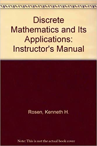 Discrete mathematics and its applications instructors manual discrete mathematics and its applications instructors manual 3rd edition fandeluxe Images