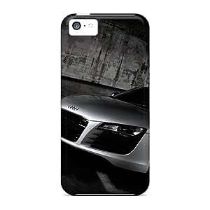 Iphone 5c Hard Back With Bumper Silicone Gel Tpu Case Cover Audi R8 Hd Widescreen