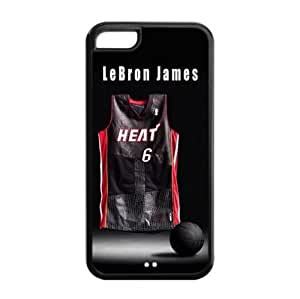 Fashionable Designed iPhone 5C TPU Case with Miami Heat LeBron James Image-by Allthingsbasketball