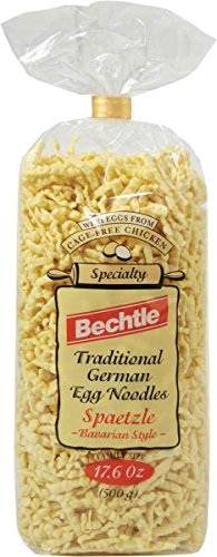 Bechtle Bavarian Style Spaetzle Traditional German Egg Noodles, 17.6 Ounce (Pack of 12)