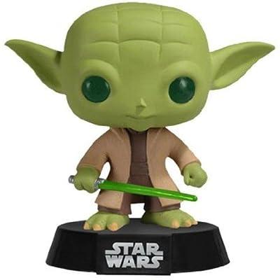 Funko Yoda Star Wars Pop: Funko Pop! Star Wars:: Toys & Games