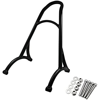 YHMTIVTU Motorcycle Short Passenger Sissy Bar Backrest for Harley Sportster XL Iron Nightster 883 1200 04-15