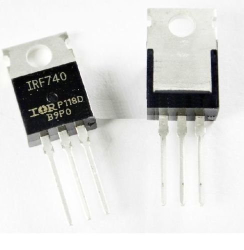 2PCS NEW IRF740 IRF 740 Power MOSFET 10A 400V TO-220