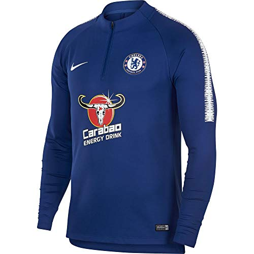 - Nike 2018-2019 Chelsea Drill Training Top (Blue)