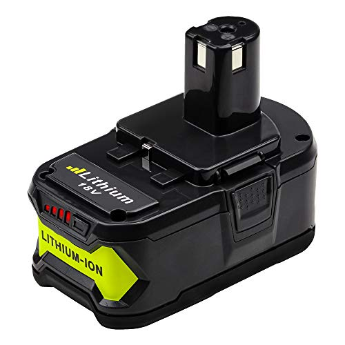 Eagglew P108 18V 5.0Ah Lithium-ion Battery Packs Replace for Ryobi One+...