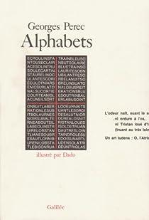 Alphabets par Perec