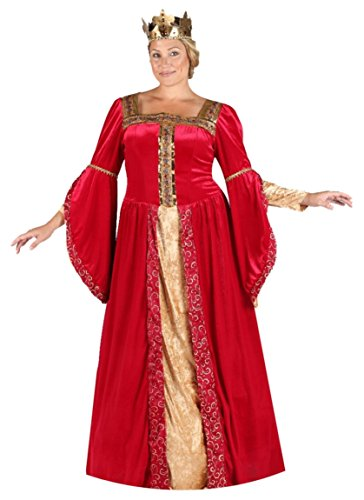 [Renaissance Queen Princess Maiden Plus Size 2XL Costume] (Adult Egyptian Prince Costumes)