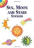 Sun, Moon and Stars Stickers, Anna Pomaska, 0486405044
