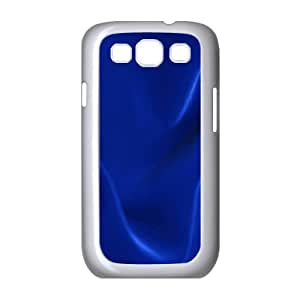 Samsung Galaxy S3 Cases Dark Blue Texture for Girls Protective, Samsung Galaxy S 3 Cases Guys for Girls Protective [White]
