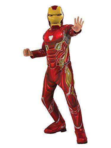 Rubie's Marvel Avengers: Endgame Deluxe Iron Man Mark 50 Child's Costume & ()