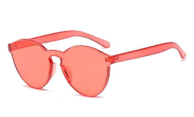 WebDeals My Shades - Gafas de sol redondas de color liso ...