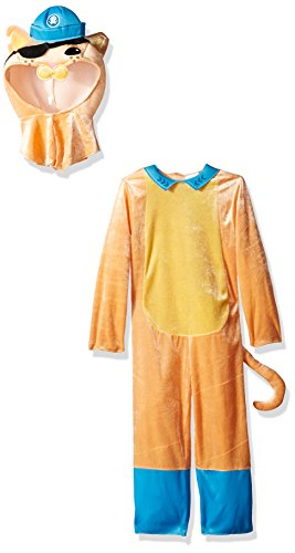 Kwazii Cat Classic Octonauts Silvergate Media Costume, (Octonaut Halloween Costume)
